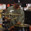 Leon the funky drummer