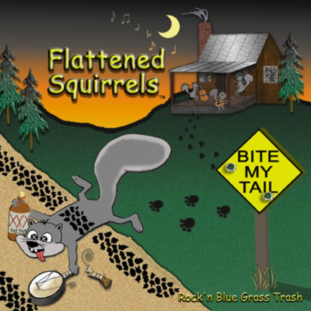 flattened squirrels