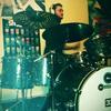 Matt on drums