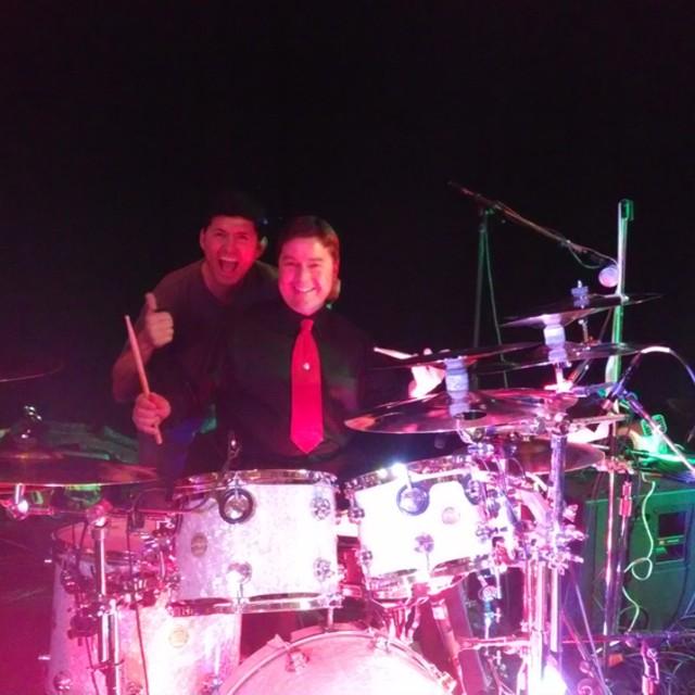 Jim on Drums