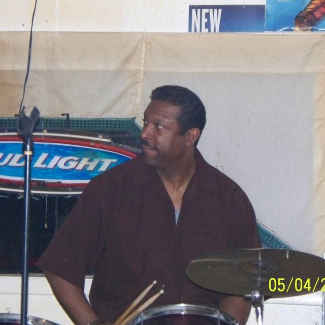 Old school funk drummer