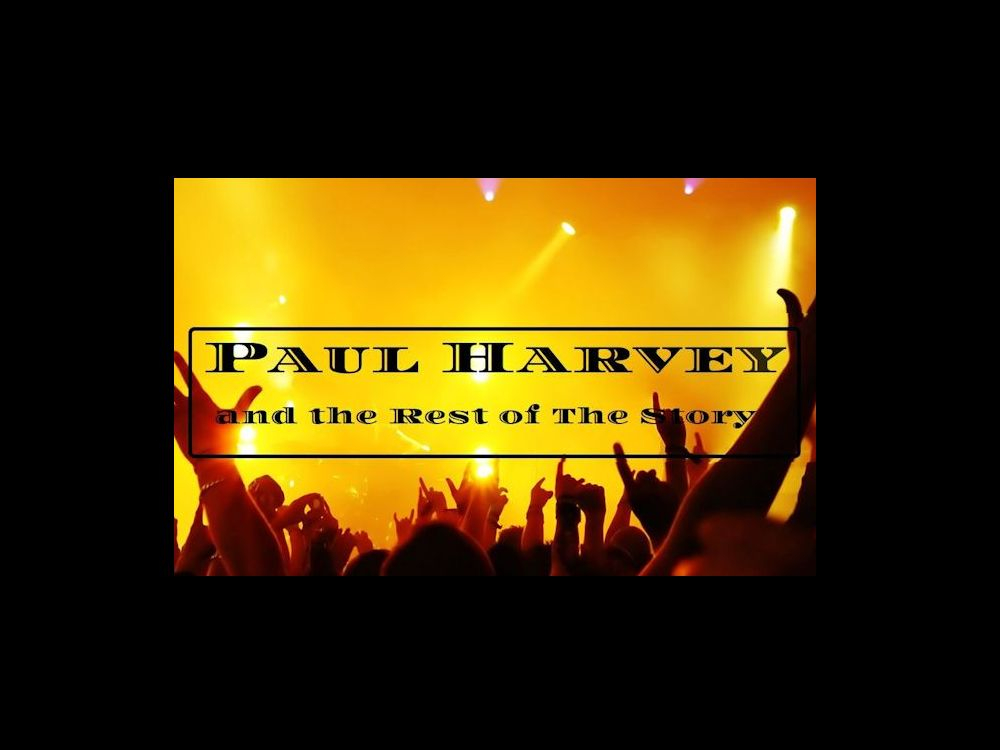 Paul Harvey And The Rest Of The Story Band In Houston Tx