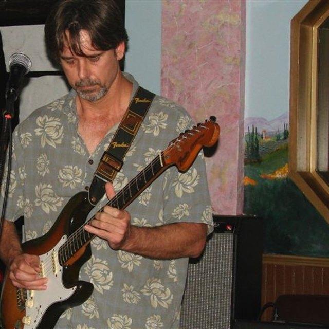 Sky Guitar Man