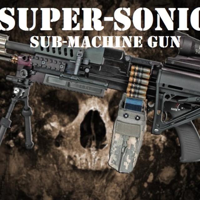 SUPER SONIC SUB MACHINE GUN