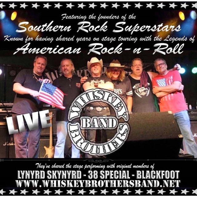 The Whiskey Brothers Band-Featuring the founders of the Southern Rock Superstars