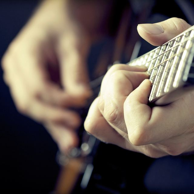 Rock and blues guitar
