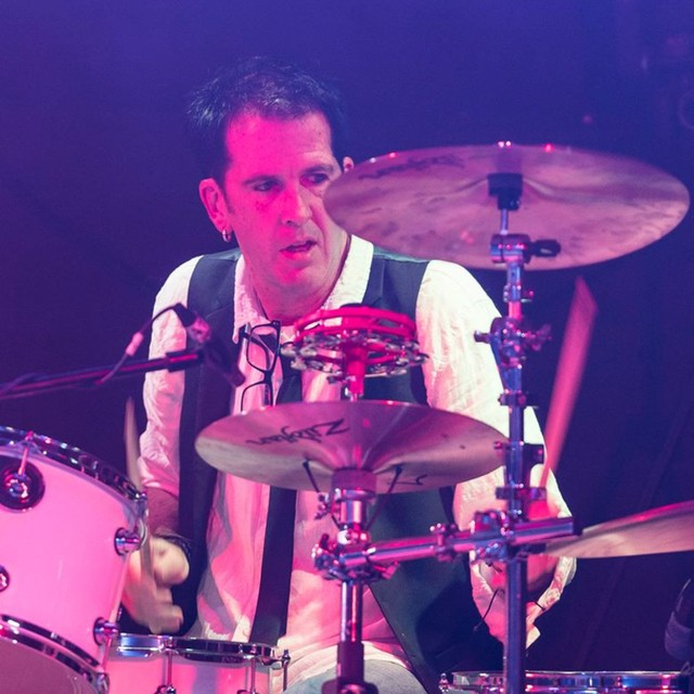80s Retro Drummer