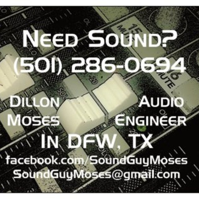 Sound Guy Moses