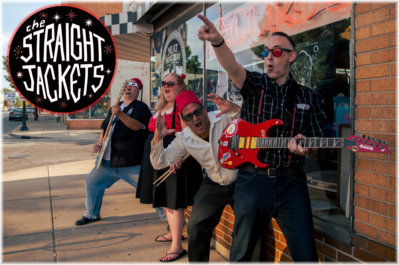 The Straight Jackets - Band in Fort Wayne IN - BandMix.com