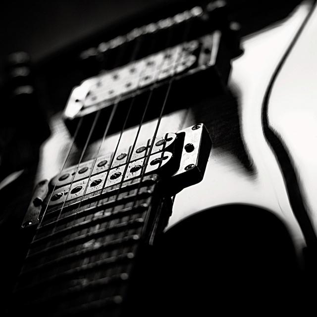 Kai on guitar