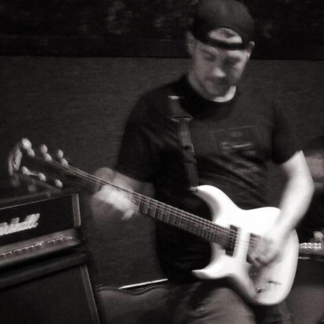 guitarist looking
