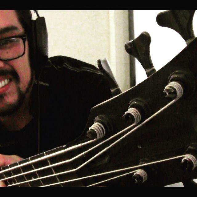 George_plays_bass
