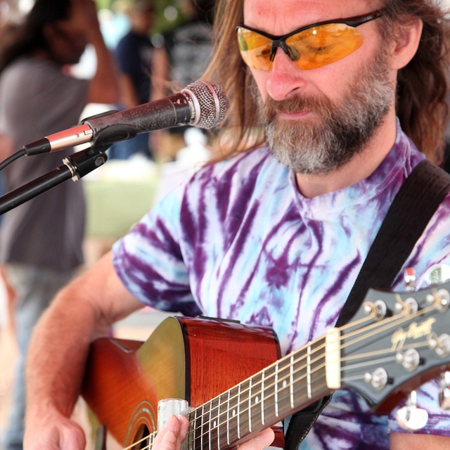 Acoustic Slide Guitarist 65