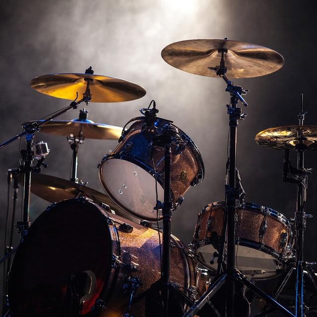 Black metal drummer