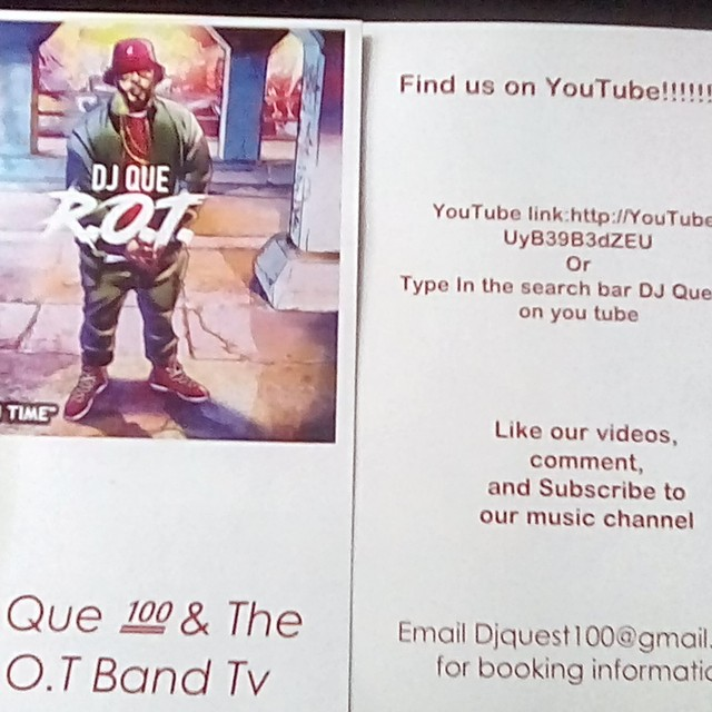 Dj que and the r.o.t band