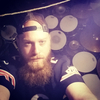 The bearded drummer
