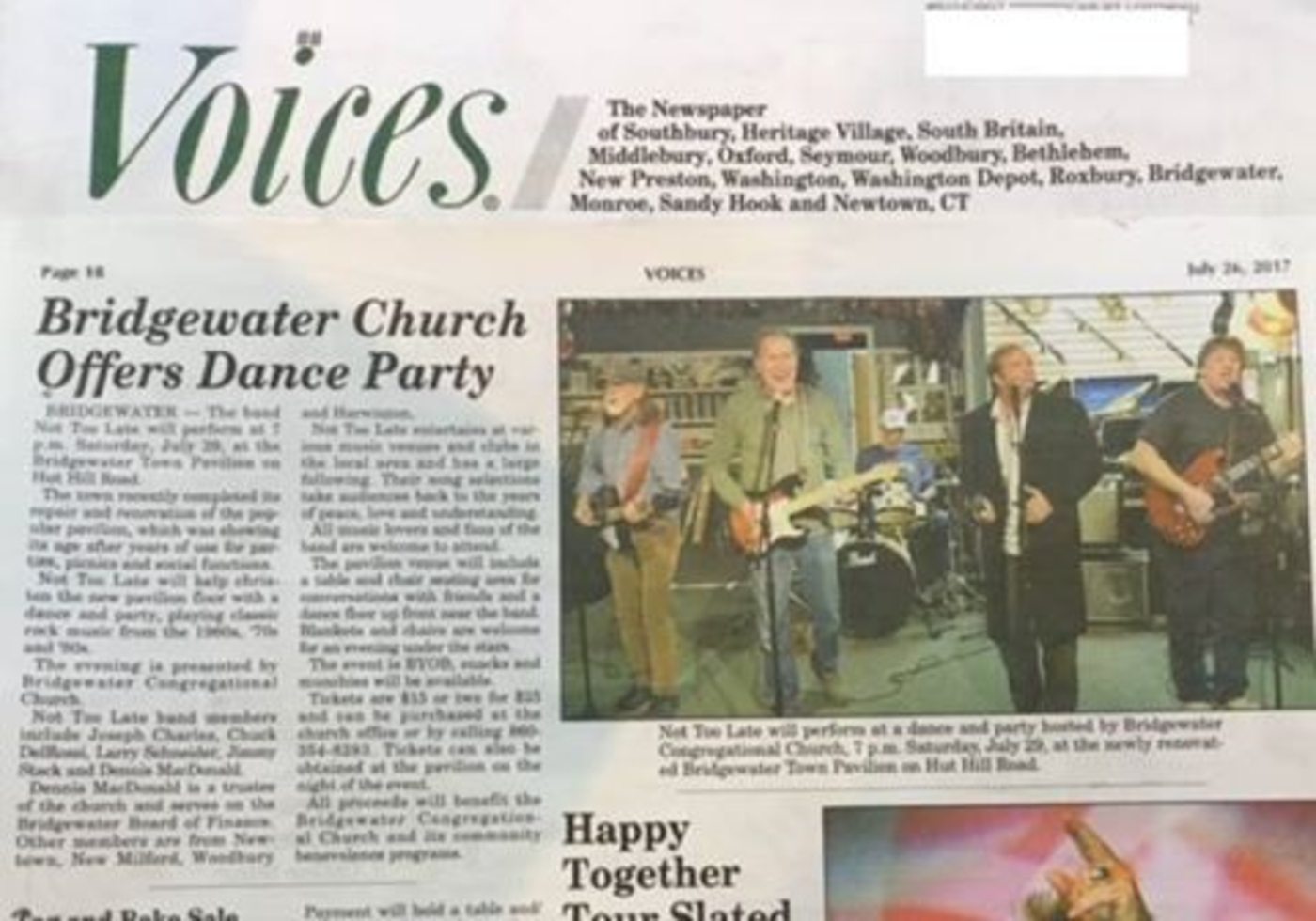 Roxbury Ct News