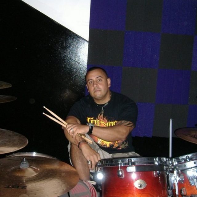 hard hitting drummer