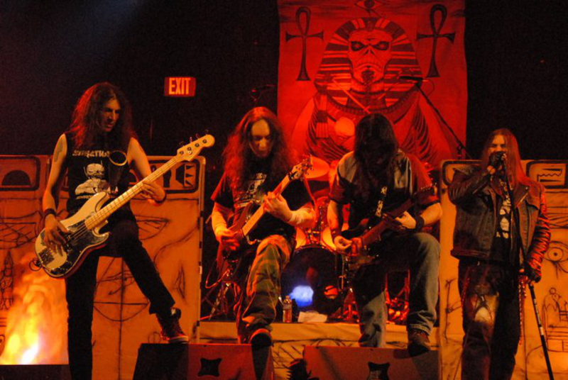 Sanctuary Iron Maiden Tribute Band In New York Ny
