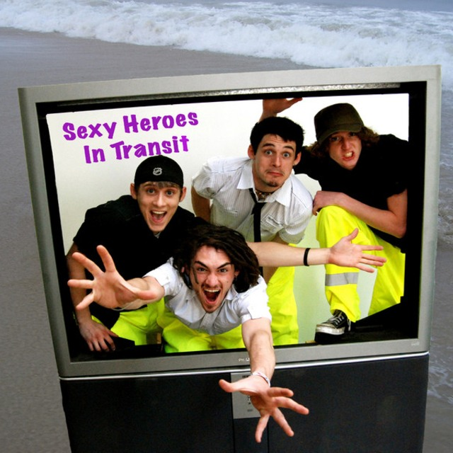 Sexy Heroes IN Transit