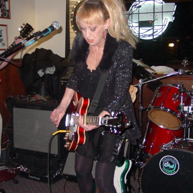 JULIE WHITES ROCKSLIDE blues band...