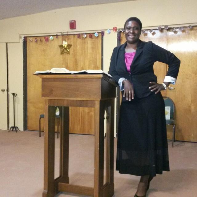 Pastor Sophia Nelson