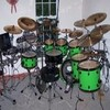 Lime Green Drums