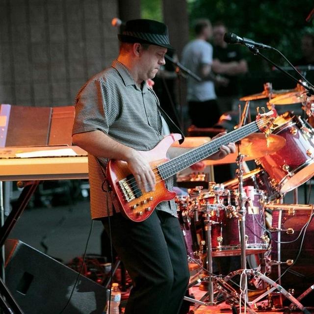 Chris Plays Bass