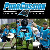 Carolina Panther's PurrCussion Drum Line