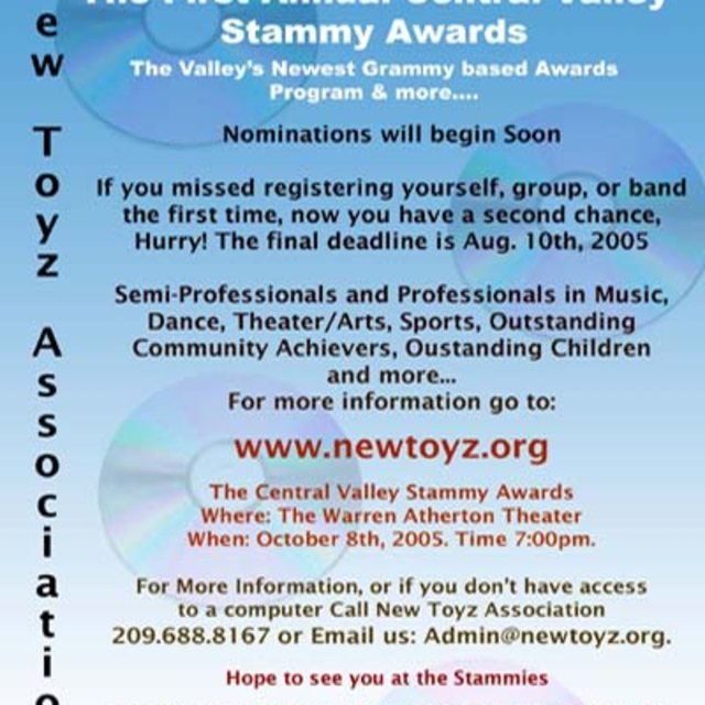 The Central Valley  Stammy Awards