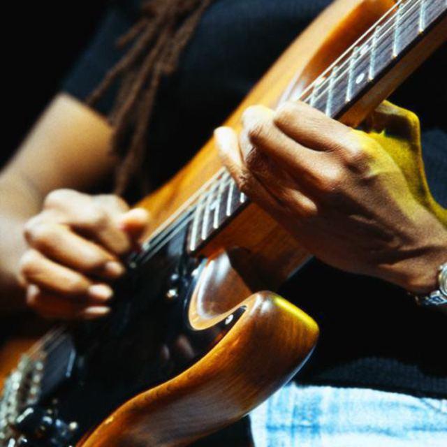 Recreational Guitar Player