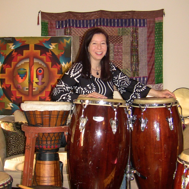 CarolSunDrum-percussionist