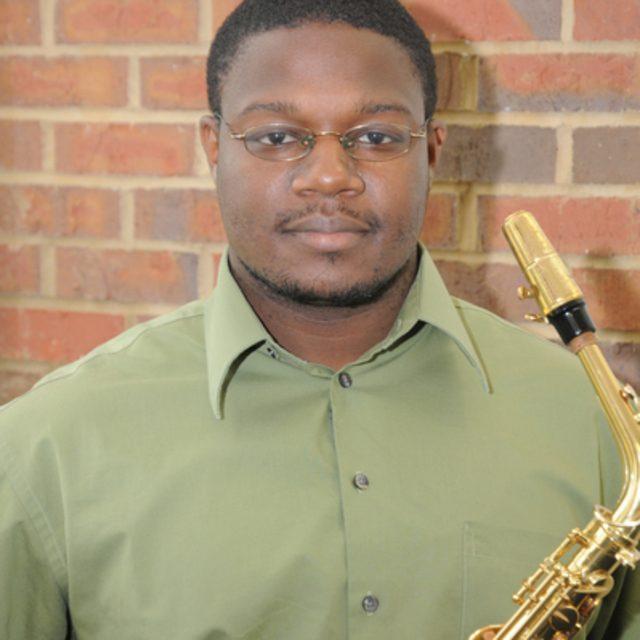 Saxophonist Jamal Riley