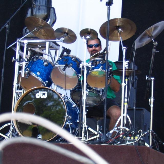 His drummer