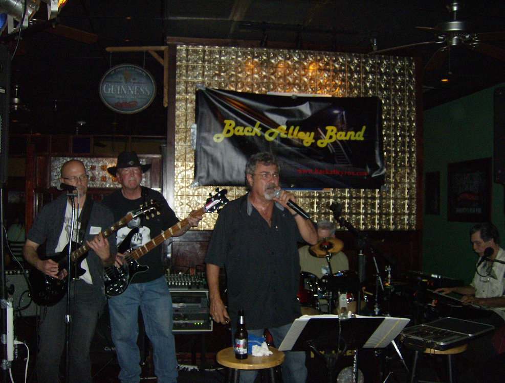 Back Alley Band In Clayton Nc Bandmix Com