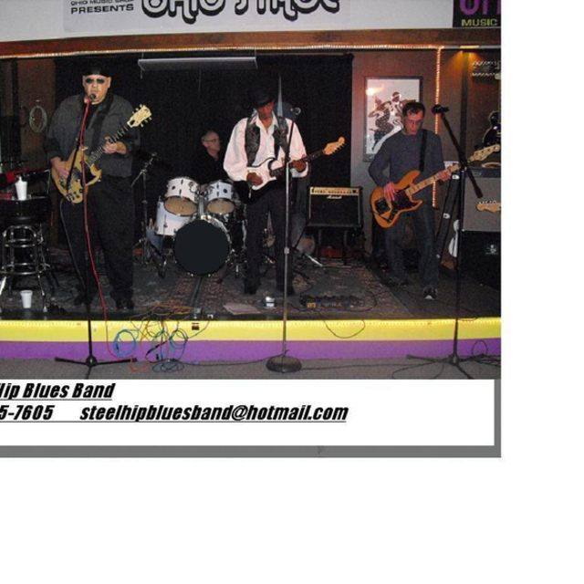 the steel hip blues band