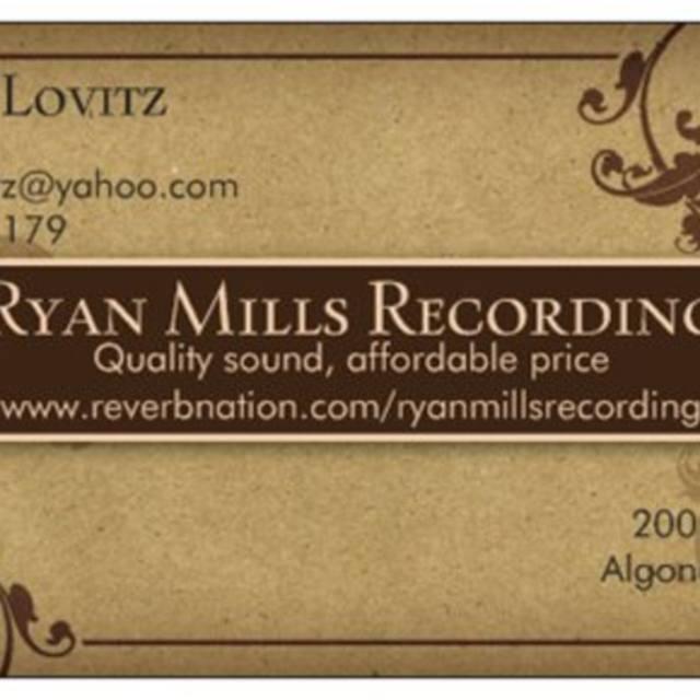 Ryan Mills Recording