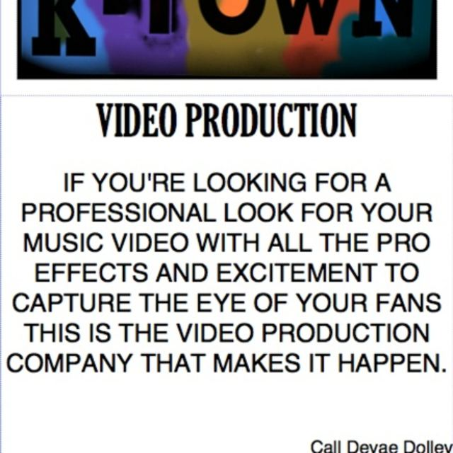 K TOWN VIDEO PRODUCTION