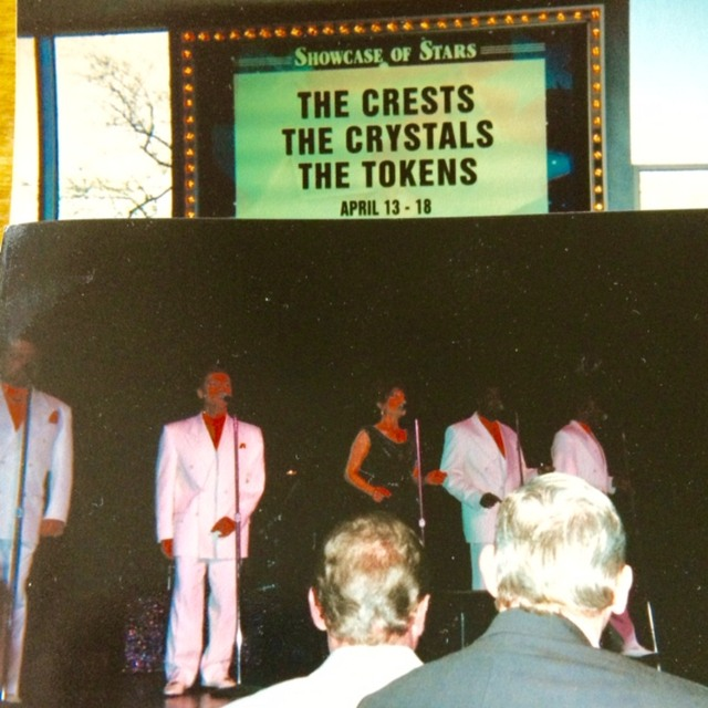 JT Carter founding member of the Crests