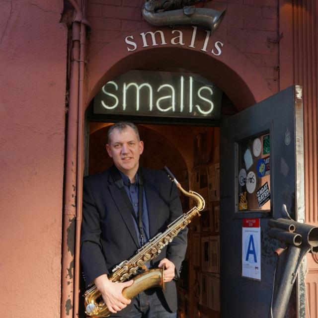 Matt on the sax