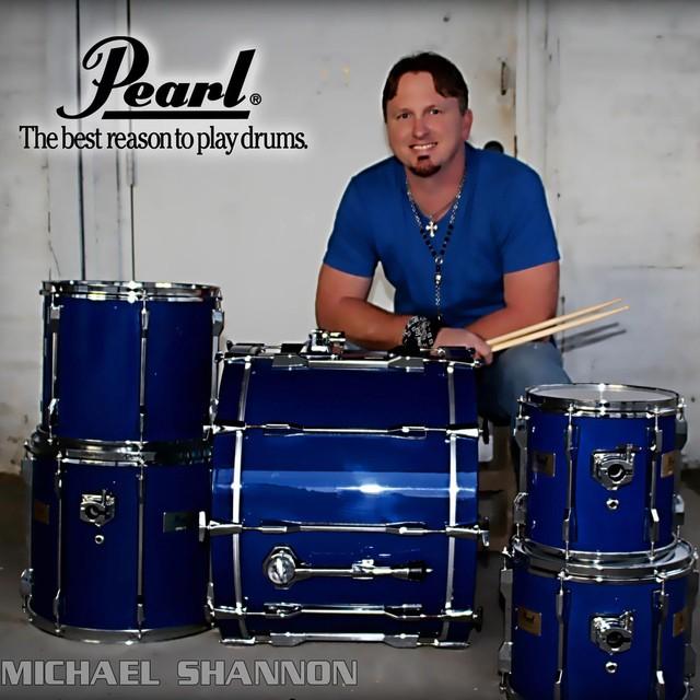 Hard working drummer