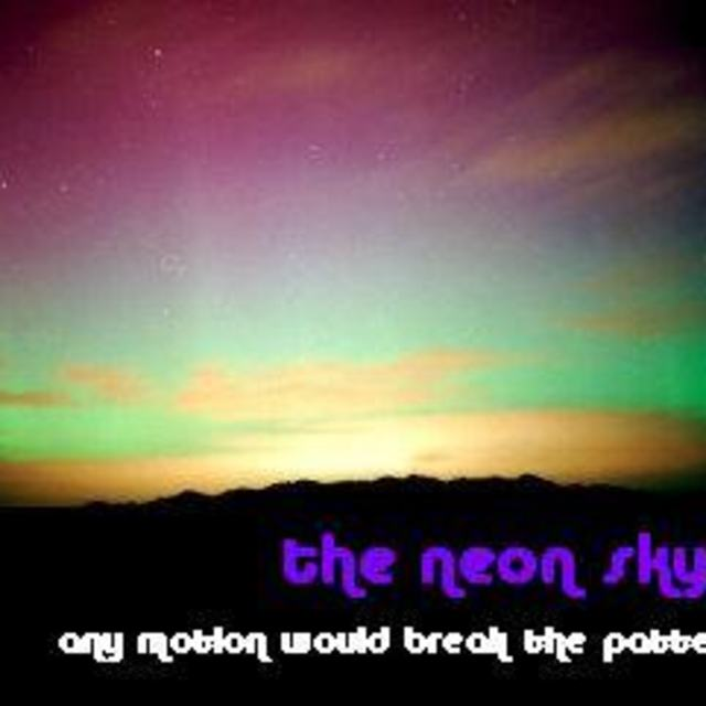 the neon sky