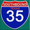 Southbound Texas 35